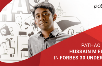 Pathao CEO Hussain M Elius in Forbes 30 under 30!