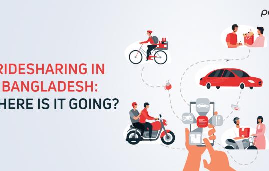 Ridesharing in Bangladesh.