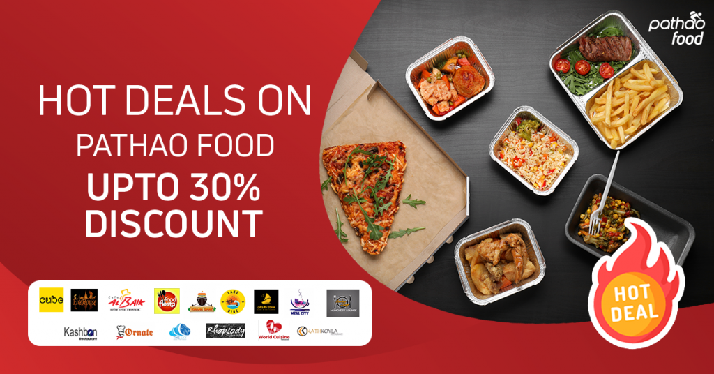 Get Upto 30% Discount on Pathao Food in Chattogram!